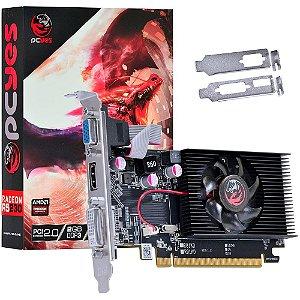 PLACA DE VIDEO 2GB PCIEXP R5 230 PW230R56402D3 64BITS DDR3 RADEON PCYES BOX