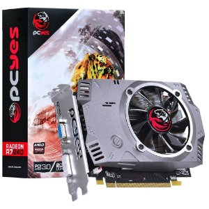 PLACA DE VIDEO 2GB PCIEXP R7 240 PTYT24012802D5 128BITS DDR5 RADEON PCYES BOX