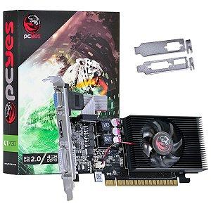 PLACA DE VIDEO 4GB PCIEXP GT 730 PW730GT12804D3LP 128BITS DDR3 GEFORCE LOW PROFILE PCYES BOX