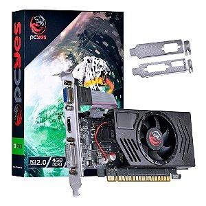 PLACA DE VIDEO 4GB PCIEXP GT730 PV73012804D3LP 128BITS DDR3 NVIDIA LOW PROFILE PCYES BOX
