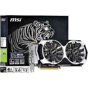 PLACA DE VIDEO 4GB PCIEXP GTX 970 970-4GD5T-OC MSI BOX