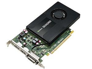 PLACA DE VIDEO 4GB PCIEXP QUADRO K2200 VCQK2200-PORPB 128BITS DDR5 DVI DP PNY BOX