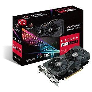 PLACA DE VIDEO 4GB PCIEXP ROG-STRIX-RX560-RX560-O4G-EVO-GAMING 128BITS GDDR5 DVI/HDMI/DP ASUS BOX