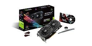 PLACA DE VIDEO 4GB PCIEXP STRIX-GTX1050TI-4G-GAMING 128BITS GDDR5 ASUS BOX IMPORTADO