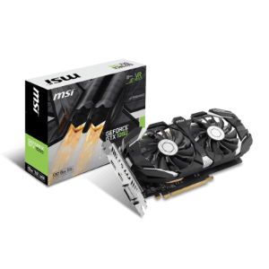PLACA DE VIDEO 6GB PCIEXP GTX 1060 912-V328-274 192 BITS GDDR5 GEFORCE DVI/HDMI/DP MSI BOX
