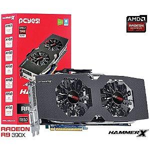 PLACA DE VIDEO 8 GB PCIEXP R9 390X V390XQM8GD 512BITS GDDR5 RADEON RADEON PCYES BOX