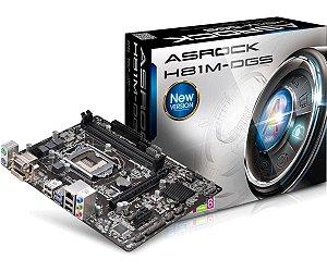 PLACA MAE 1150 MICRO ATX H81M-DGS DDR3 BOX