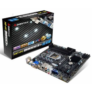 PLACA MAE 1150 MICRO ATX HI-FI B85S3 V6.1 DDR3 HDMI/DVI/VGA BIOSTAR BOX