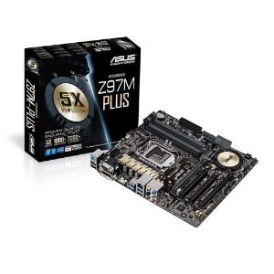 PLACA MAE 1150 S/V/GL Z97M-PLUS/BR ASUS BOX