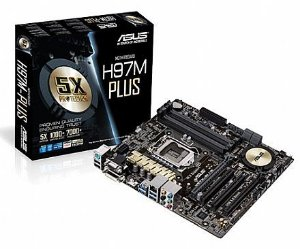 PLACA MAE 1150 S/V/R/GL H97M-PLUS DDR3 ASUS BOX