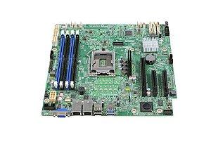 PLACA MAE 1151 MICRO ATX DBS1200SPSR DDR4 XEON E3-1200V5/V6 UDIMM 2X REDE INTEL BOX
