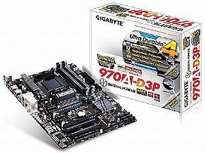 PLACA MAE AM3 GA-970A-D3P DDR3 GIGABYTE BOX