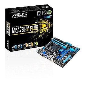 PLACA MAE AM3 MICRO ATX M5A78L-M PLUS USB3 DDR3 ASUS BOX