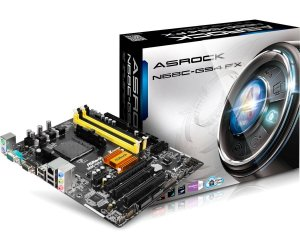 PLACA MAE AM3 N68C-GS4 FX DDR2/DDR3 ASROCK BOX IMPORTADO