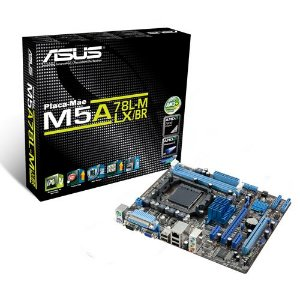 PLACA MAE AM3 S/V/R M5A78L-M/USB3 DDR3 ASUS BOX