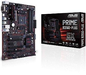 PLACA MAE AM4 ATX B350-PLUS DDR4 PRIME ASUS BOX