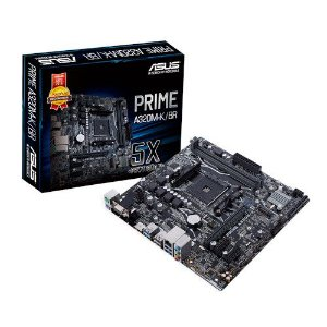 PLACA MAE AM4 MICRO ATX A320M-K/BR DDR4 VGA/HDMI PRIME ASUS BOX