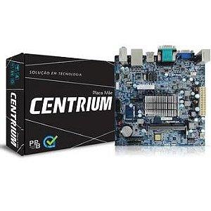 PLACA MAE COM PROC MINI-ITX C2016-BSWI-D2-J3060 DDR3 SODIMM CENTRIUM BOX