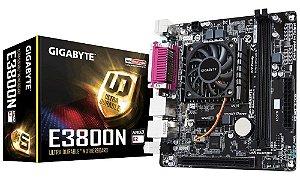 PLACA MAE COM PROC MINI-ITX E3800N DDR3 GIGABYTE BOX