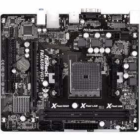 PLACA MAE FM2 FM2A55M-VG3 DDR3 ASROCK BOX