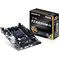 PLACA MAE FM2 MICRO ATX GA-F2A68HM-H DDR3 GIGABYTE BOX IMPORTADO