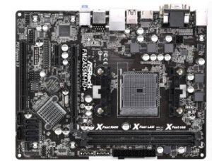 PLACA MAE FM2 S/V/R FM2A55M-HD DDR3 ASROCK BOX