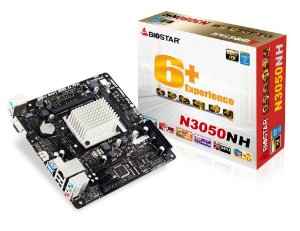 PLACA MAE MINI-ITX N3050NH DDR3 VGA/HDMI BIOSTAR BOX