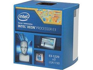 PROC 1150 XEON BX80646E31220V3 E3-1220V3 3.10GHZ INTEL BOX