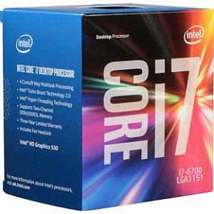PROC 1151 CORE I7 6700 3.4 GHZ SKYLAKE 8 MB CACHE INTEL BOX