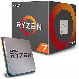 PROC AM4 RYZEN 7 1700X 3.4 GHZ S/ COOLER 20 MB CACHE OCTA CORE AMD BOX