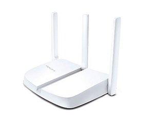 ROTEADOR 300 MBPS WIRELESS MW305R-1 1 PORT WAN 4 PORT LAN 2 ANTENAS MERCUSYS BOX