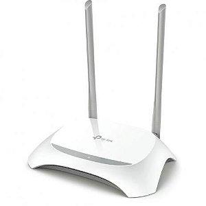 ROTEADOR 300 MBPS WIRELESS TL-WR849N 1 PORT WAN 4 PORT LAN TP LINK BOX