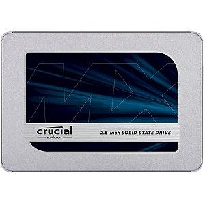 SSD 1000GB SATA III CT1000MX500SSD1 CRUCIAL BOX