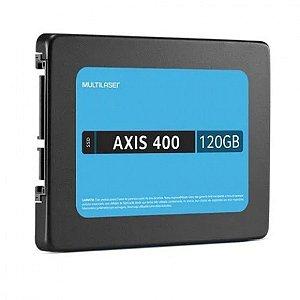 SSD 120GB SATA III AXIS 400 MULTILASER OEM