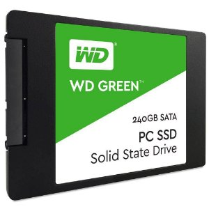 SSD 240GB SATA III WDS240G1G0A-00SS50 WD GREEN WESTERN DIGITAL BOX