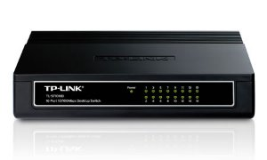 SWITCH 16P 10/100 TL-SF1016D TP LINK BOX