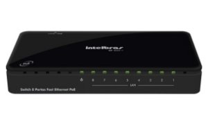 SWITCH 8P 10/100 SF800 VLAN INTELBRAS BOX
