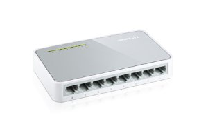 SWITCH 8P 10/100 TL-SF1008D TP LINK BOX