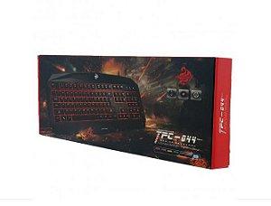 TECLADO USB TCP-044 GAMER 107 TECLAS HOOPSON BOX