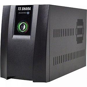 NO-BREAK 1400VA 4431 COMPACT PRO ENT BIVOLT AUTO SAIDA 1115V/220V COM CHAVE SELETORA TS SHARA BOX