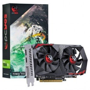 PLACA DE VIDEO 4GB PCIEXP GTX 1050 TI PA1050TI12804G5DF 128BITS GDDR5 PCYES BOX
