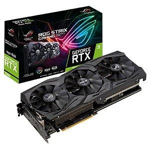 PLACA DE VIDEO 6GB PCIEXP RTX 2060 ROG-STRIX-RTX2060-A6G-GAMING 192 BITS GDDR6 ASUS BOX