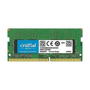 MEMORIA 16GB DDR4 2666MHZ CT16G4SFD8266 NOTEBOOK CRUCIAL BOX