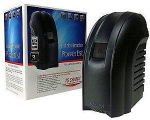 ESTABILIZADOR BIVOL 500VA POWEREST 500 9016 4 TOMADAS TS SHARA BOX