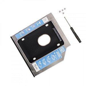 ADAPTADOR CADDY P/ HD OU SSD 9,5MM CHD-006 HOOPSON BOX