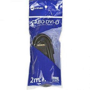 CABO DVI-D 2 M DUAL LINK 23545 VINIK BOX