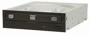 GRAVADOR DVD/CD SATA IHAS124-04 DU PRETO LITE-ON OEM