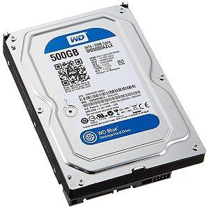 HD 500GB SATA3 WD5000 SEMI NOVO 3 MESES DE GARANTIA WESTERN DIGITAL BOX