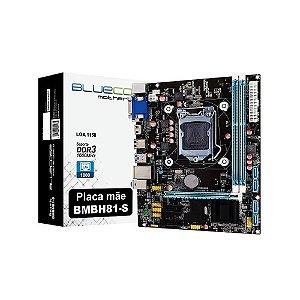 PLACA MAE 1150 MICRO ATX BMBH81-T DDR3 BLUECASE BOX