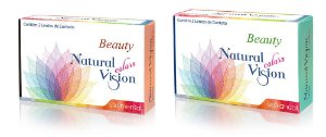 LENTE COLORIDA DESCARTE MENSAL NATURAL VISION MODELO BEAUTY